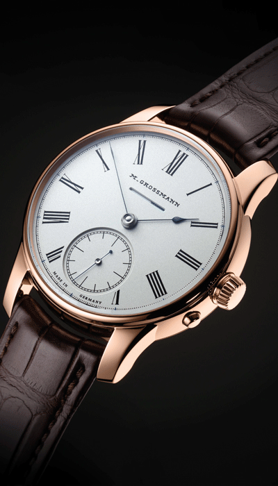 with historical<br /> Moritz Grossmann logo
